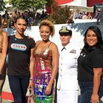 Transgender military service members make a statement at the VMAs