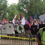 Charlottesville | White neo-Nazi supremacists chant anti-gay abuse (video)