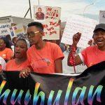 Khumbulani Pride protest over police handling of lesbian murder