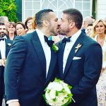 Gay adult film stars marry 12 years after meeting on set