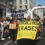 London Pride organisers apologise for anti-trans protest