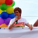 Did Scotland's First Minister snub Trump to lead Glasgow Pride instead?