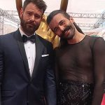 This Queer Eye star's fierce Emmy dress is a stunner