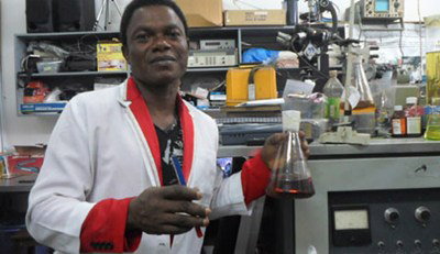 On track for the Nobel Science Prize: Chibuihem Amalaha (Pic: This Day)
