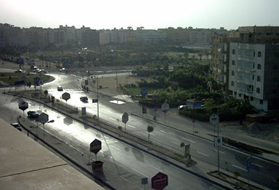 6th of October City, outside of Cairo