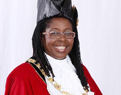 Angela Brown Burke, Mayor of Kingston