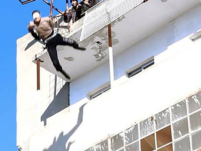 This man was pushed off a building by Isis militants in March for being gay and then stoned to death after he survived the fall.