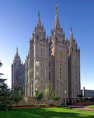 Salt Lake Temple in Salt Lake City