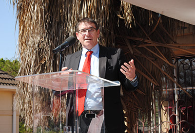 Deputy Minister of Justice, John Jeffery