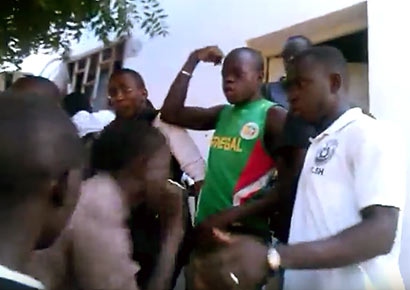 Students-riot-and-attack-gay-man-in-Senegal