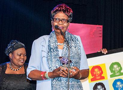 Eudy Simelane's mother