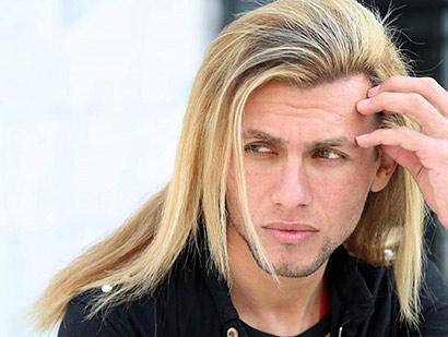 Gays long hair