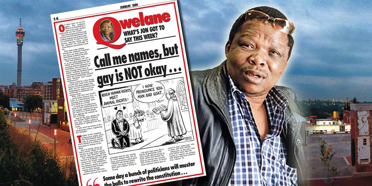 The Jon Qwelane hate speech case is delaying the Hate Crimes Bill.