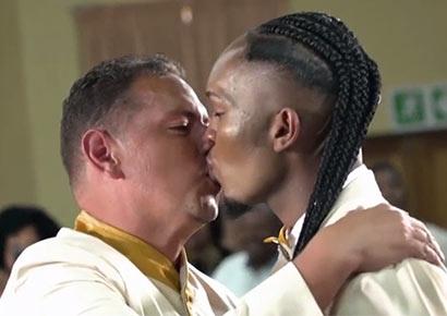 Gay wedding in south africa