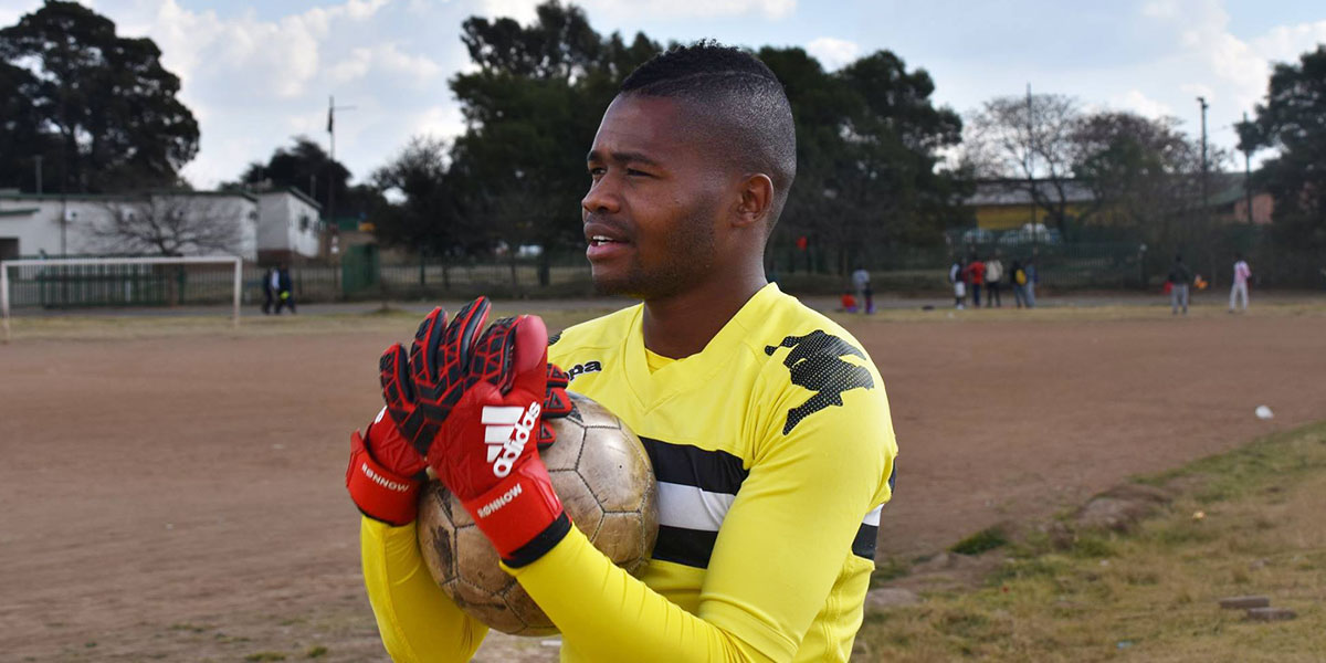 Phuti Lekoloane is South Africa's first openly gay male soccer player