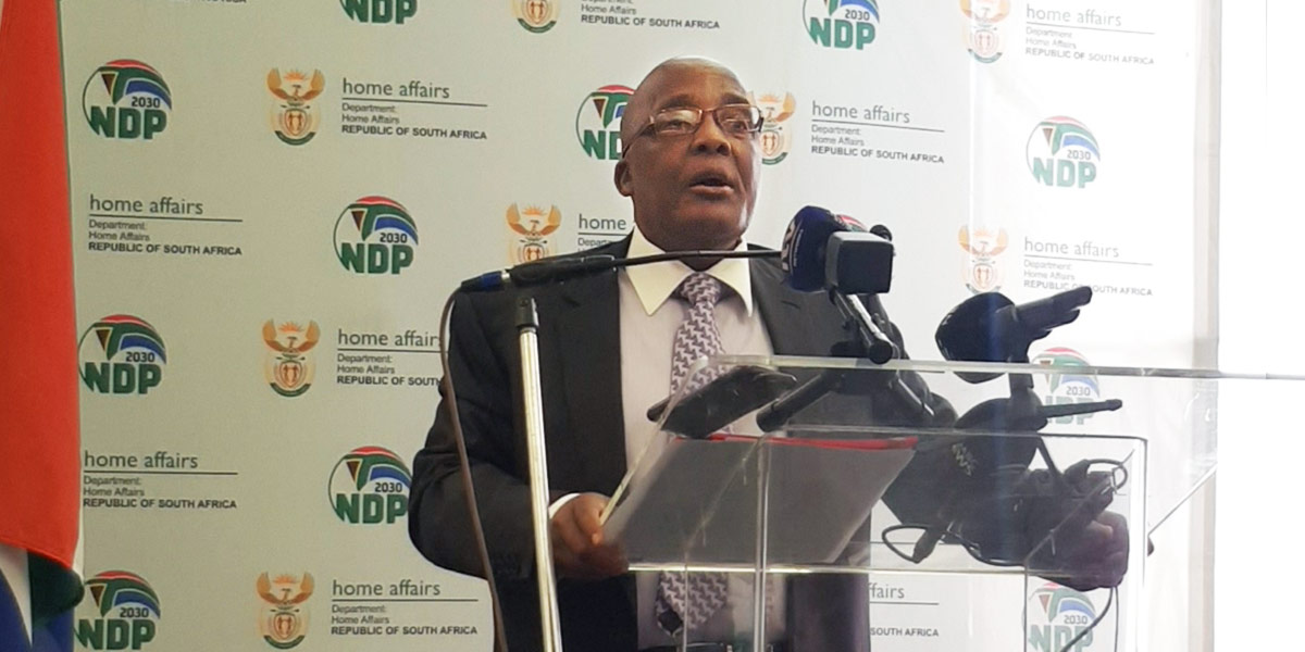 Minister Aaron Motsoaledi wants to modernise South Africa's marriages laws