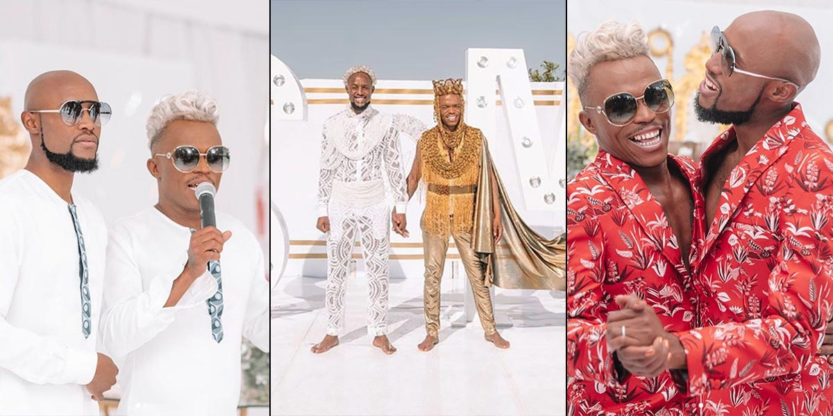 Somizi and Mohale are married