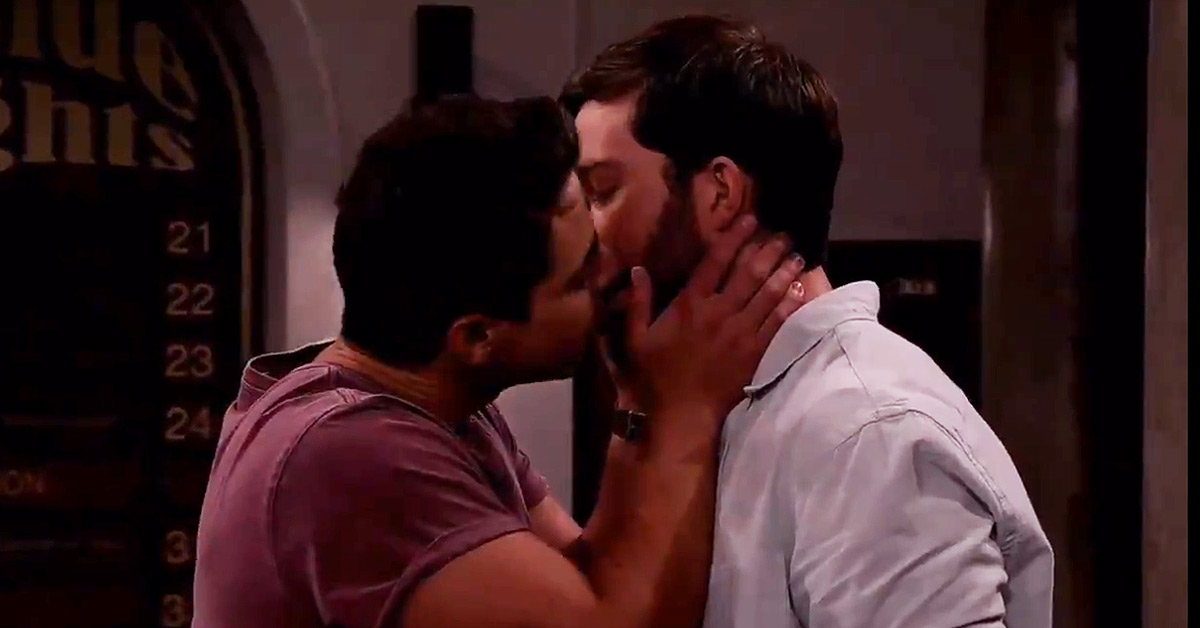 South African soap 7de Laan has aired another gay kiss