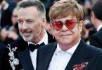 Elton John (right) and husband David Furnish