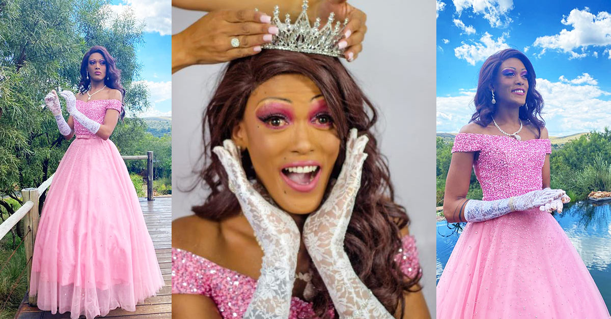 Miz Cambell is Miss Drag South Africa 2020/21